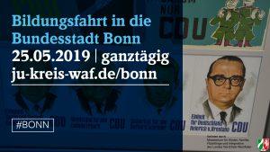 Bildungspolitische Fahrt in die Bundesstadt Bonn @ Bundesstadt Bonn | Bonn | Nordrhein-Westfalen | Deutschland